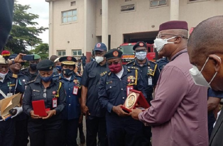 Anambra launches 2 new fire trucks donated by Federal Fire Service