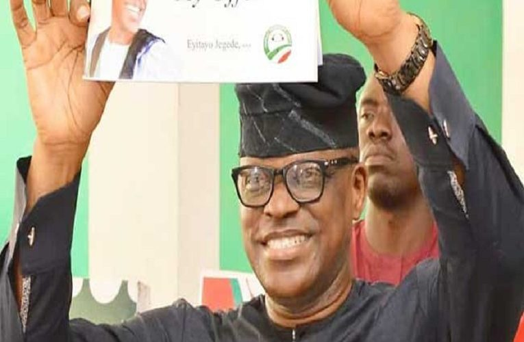 Ondo state deputy governor loses out as Eyitayo Jegede wins Ondo PDP governorship primary