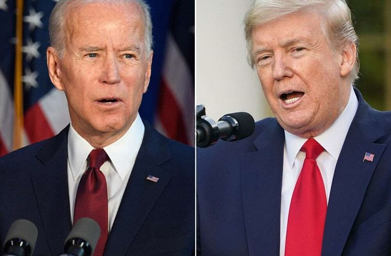 Joe Biden opens up biggest national poll lead over Trump since securing nomination as independents abandon Trump- see poll figure