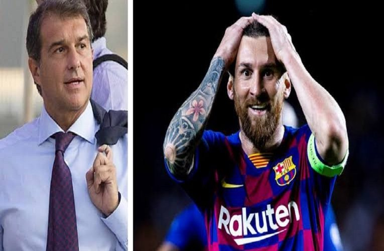 Messi could leave Barcelona due to club's board – Former Barca president Joan Laporta