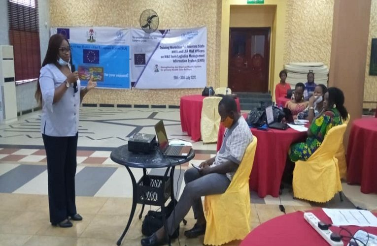 Anambra collaborates with EU/WHO, organises 2-Day training for LMIS data tools