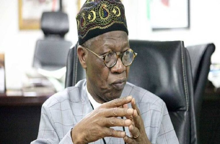 If Nigeria disintegrates, Professors could be working in bakeries in Togo just to survive – Lai Mohammed