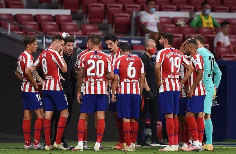 Two Atletico Madrid players test positive for COVID-19 ahead of Champions League quarterfinal against RB Leipzig on Thursday night