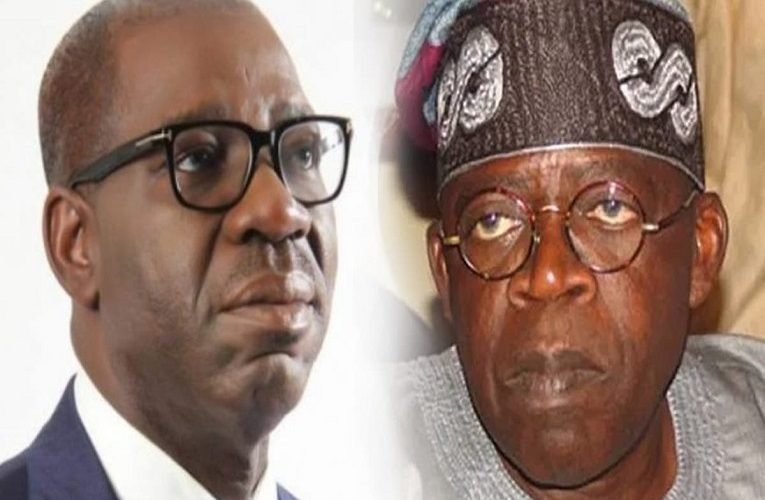 Your woeful leadership of Edo State will hopefully be brought to an end soon- Tinubu tells Governor Obaseki
