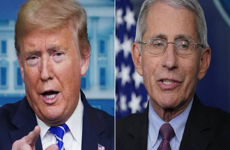 I was absolutely not surprised Trump got Covid-19′ – US Infectious disease chief, Dr Fauci