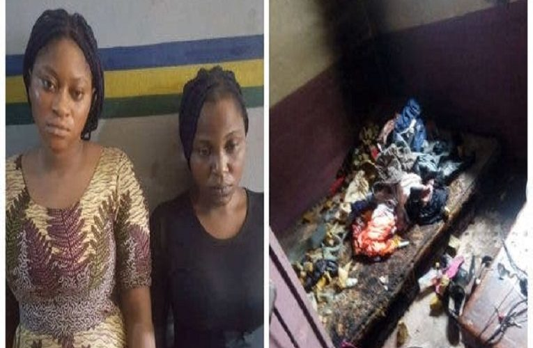 Lady who burned ex-boyfriend house, killed his new girlfriend, arrested