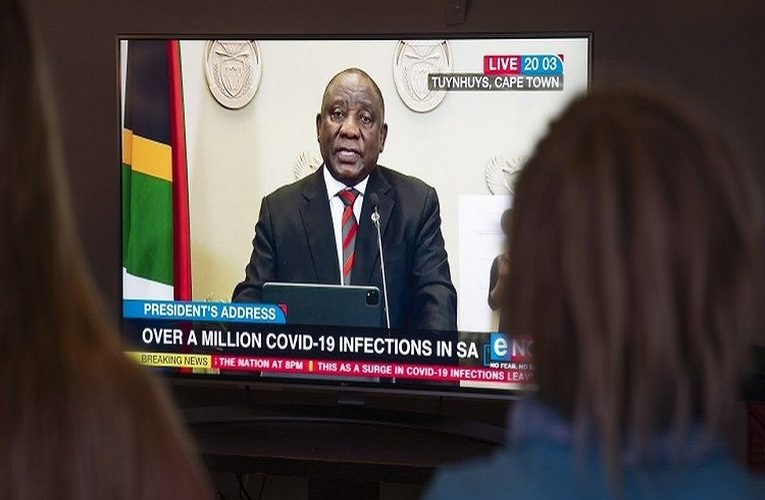 Covid: South Africa's Ramaphosa announces new restrictions as cases soar