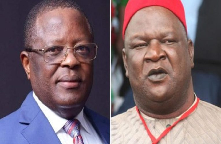 Umahi is after my life – Former SGF, Anyim Pius Anyim petitions Buhari, IGP and DSS