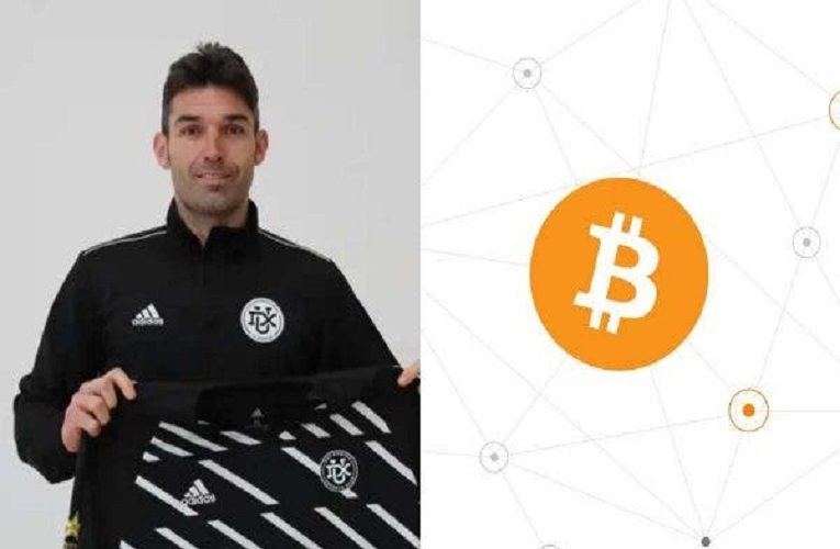 Former Real Madrid striker becomes first-ever footballer to be bought with Bitcoin