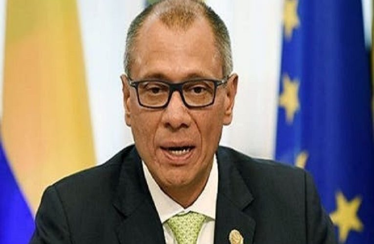 Former Ecuador Vice President, Jorge Glas bags fresh eight-year jail term for misuse of public funds
