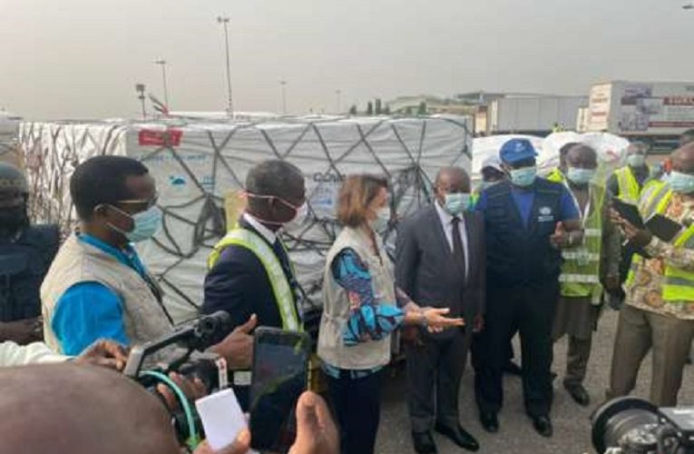 First vaccine doses supplied by Covax arrive in Ghana
