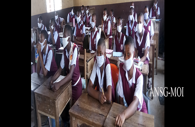 Schools resume across Anambra, largely comply with COVID-19 protocols