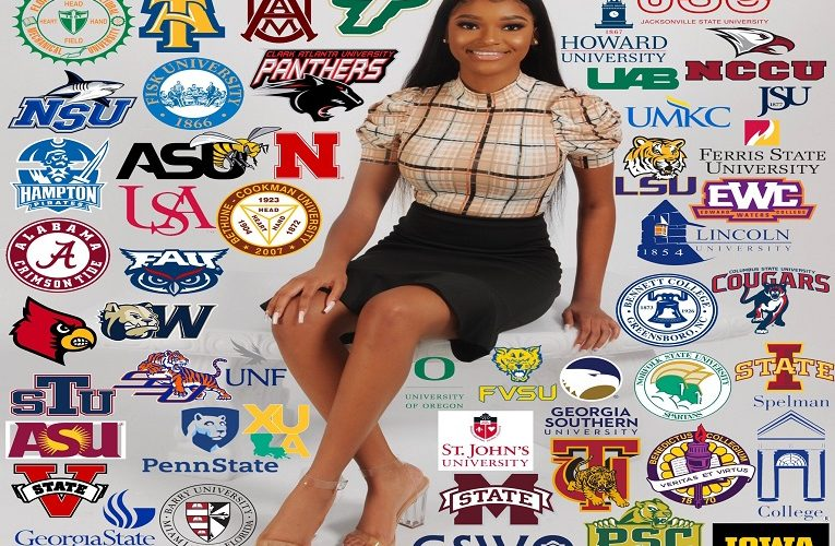 Young lady gets admissions into 50 American universities