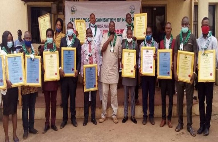 20 companies in Anambra receive MANCAP from SON