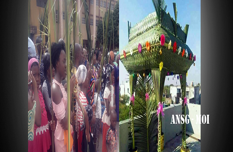 Palm Sunday: Christians called to look unto Christ