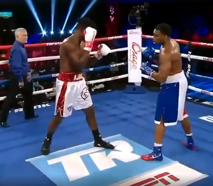 Nigerian Heavyweight Boxer, Efe Ajagba increases his unbeaten run to 15-0 (12 KOs)