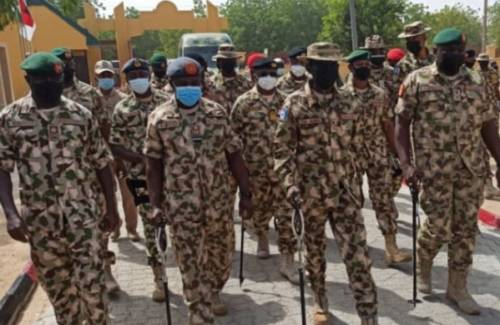Boko Haram Fighters Invade Dikwa During Defence Minister, Service Chiefs' Visit To Borno