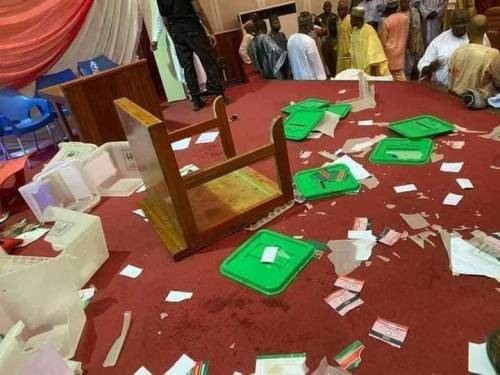 PDP Zonal Congress Ends In Chaos As Thugs Snatch Ballot Boxes