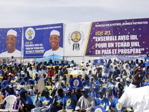 Chad President Seeks Sixth Term After 30 Years In Power
