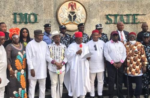 South-East Governors Launch Regional Security Outfit, EBUBE AGU