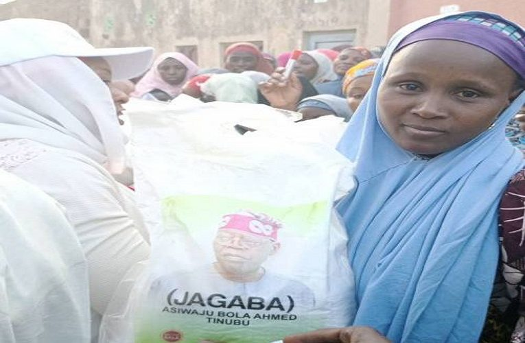 2023 Election: Tinubu-branded Rice Hits Kano, Distributed To Residents