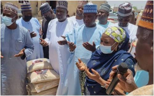 2023: Tinubu Entices Borno Muslims With Rice, 10,000 Bags Shared For Ramadan