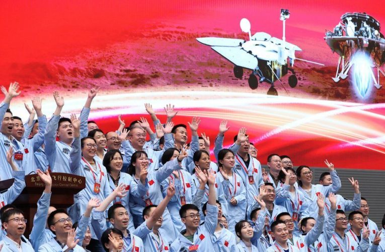 China lands its Zhurong rover on Mars