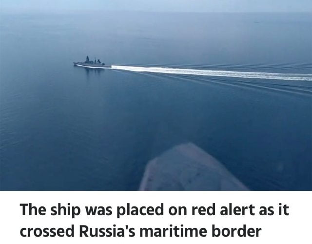 RUSSIA Has Vowed To SINK British Warships The Next They Sail Too Close To Crimea