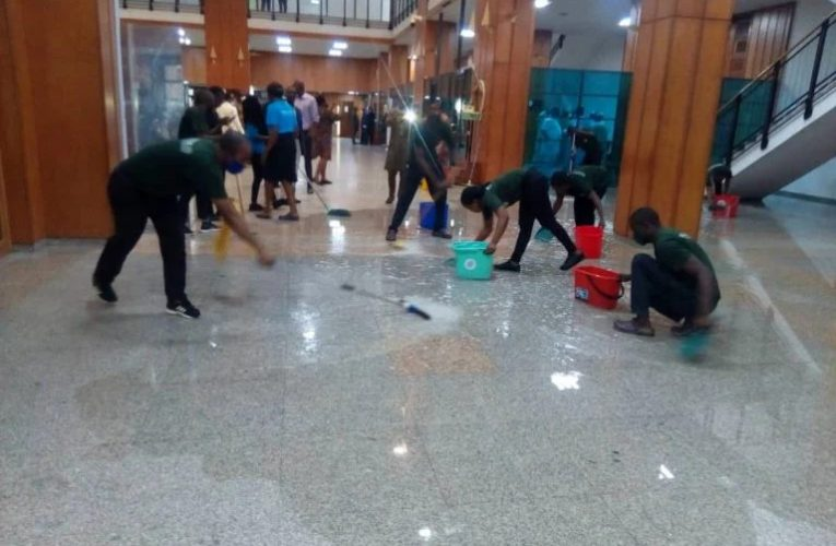No Money Was Released For Renovation – Senate Speaks On Leaking Roof