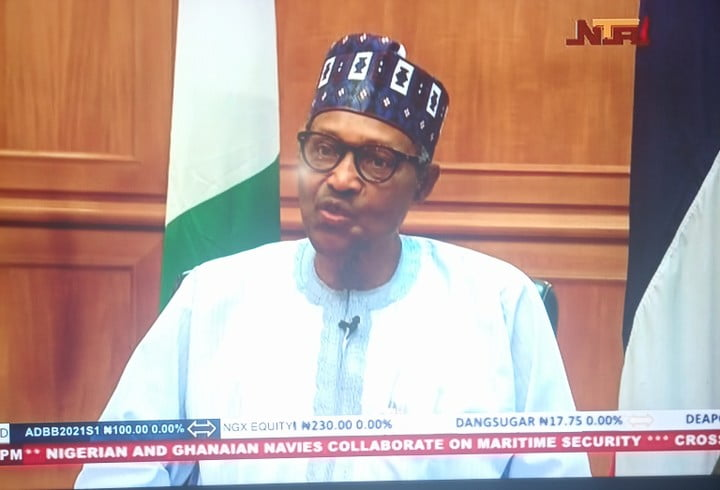 President Buhari In Exclusive Interview With NTA (video)