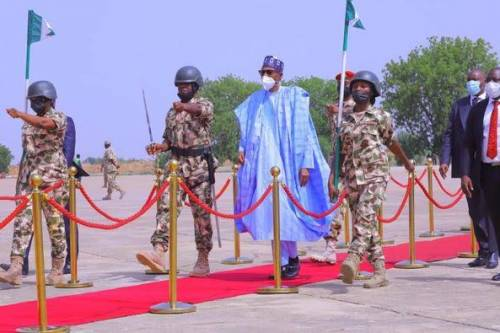 Borno Nursing School Suspends Student For Not Welcoming Buhari During President's Visit