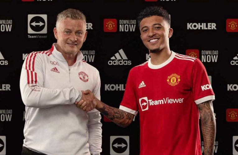 OFFICIAL: Jadon Sancho signs for Manchester United