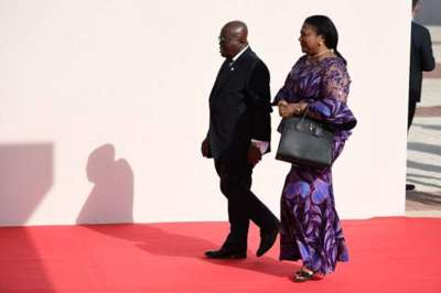 Ghana's first lady offers to refund allowances