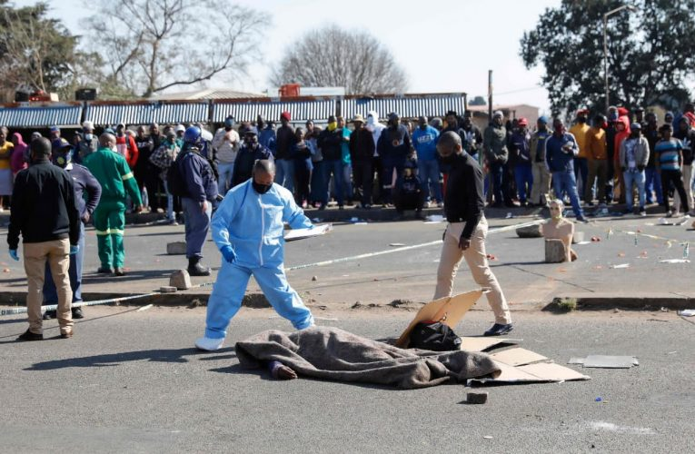SOUTH AFRICA CALLS OUT MILITARY TO QUELL DEADLY PROTESTS OVER JAILING OF ZUMA