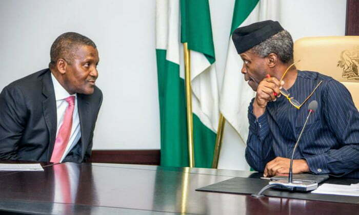 Tax Credit: FG awards N309 billion road contract to Dangote