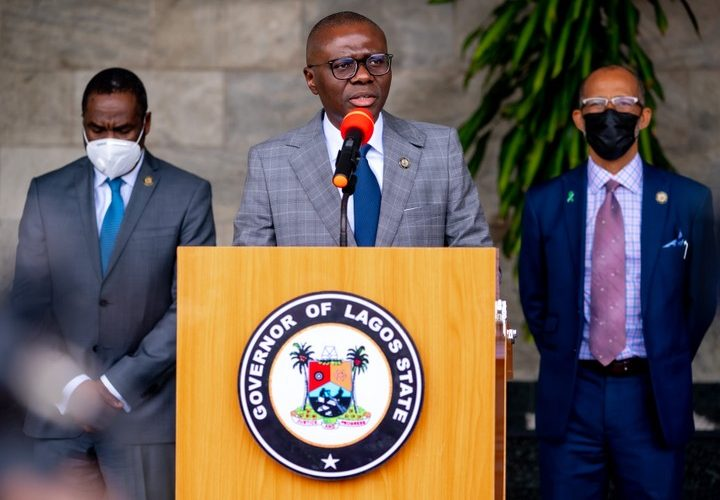 COVID-19: Sanwo-Olu Says Lagos Has Recorded 135 Deaths In Third Wave