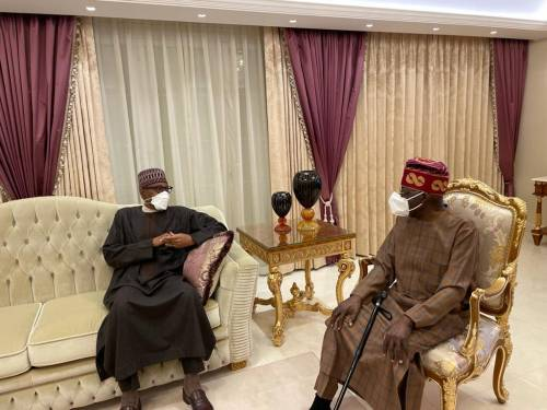 Tinubu, Aides Angry With Presidency For Releasing His Pix With Walking Stick- SR