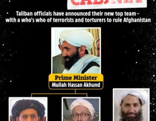 Biggest Threat Of 9/11-style Attack After Taliban Unveils Hellish Cabinet( Pix)