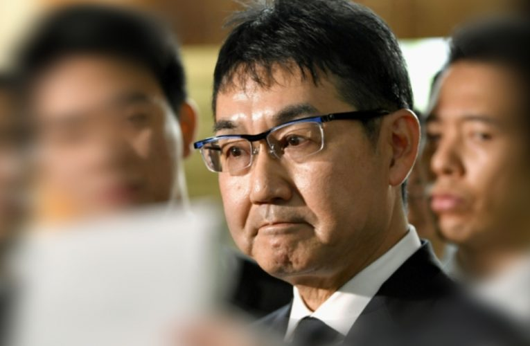 Ex-Japan's justice minister gets 3 years' jail term for vote buying