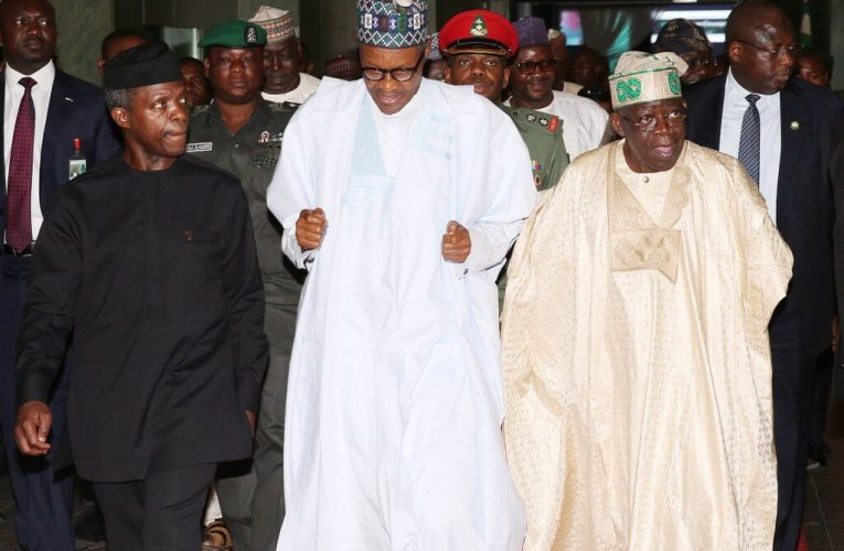 2023 Presidency : Osinbajo's Moves To Succeed Buhari Pitches Him Against Tinubu